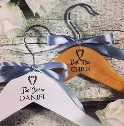 Personalised Customised Bridal Wedding Coathangers