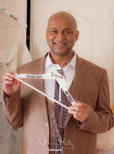 Personalised Bridal Hanger Coathanger