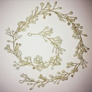 Bridal Gold Headpiece Hairpiece