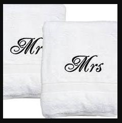 Personalised High Quality Hand/Gym Towels | His or Hers