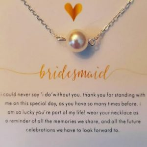 Bridesmaid Necklace | Wedding Thank You Gift