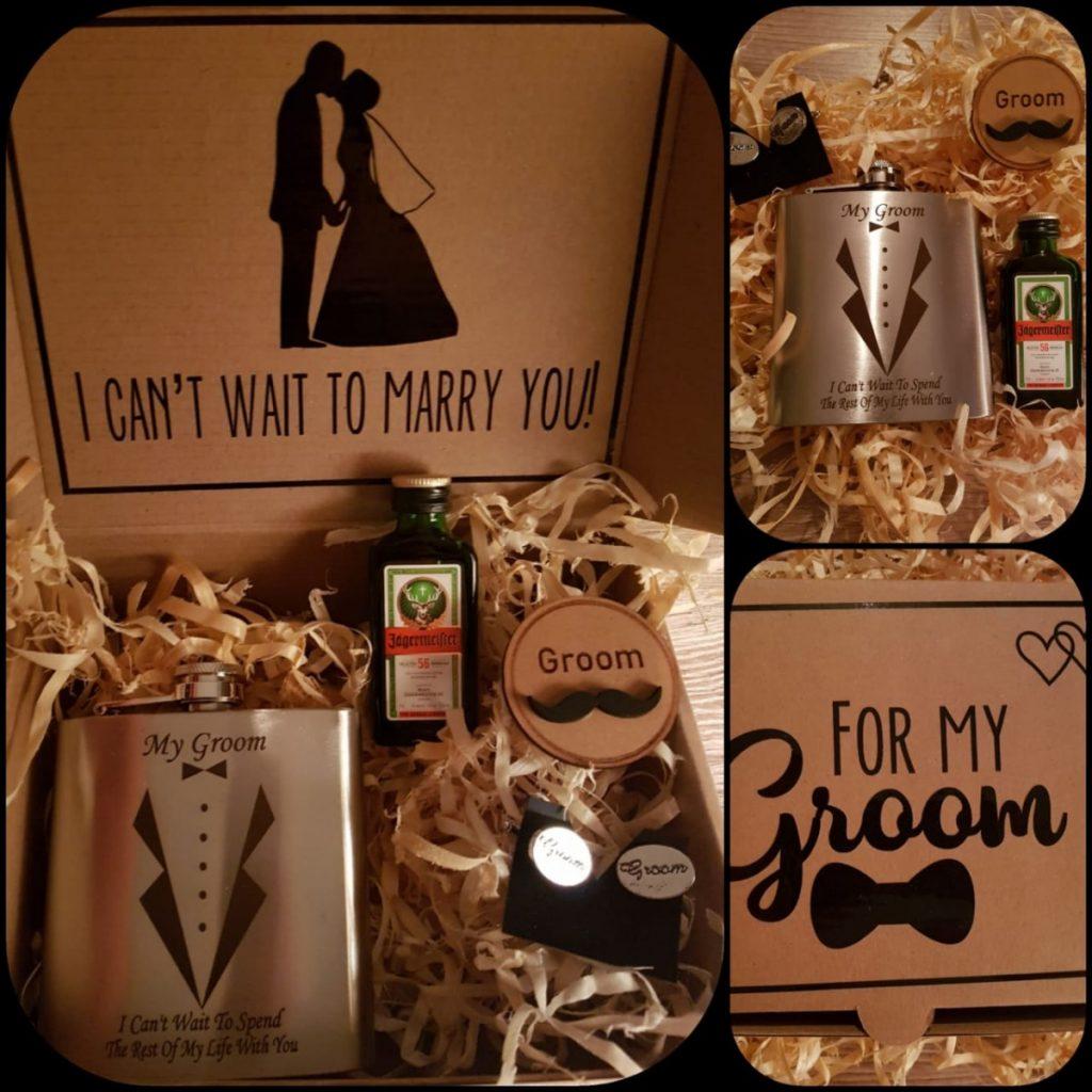 Groom Customised Gift Box