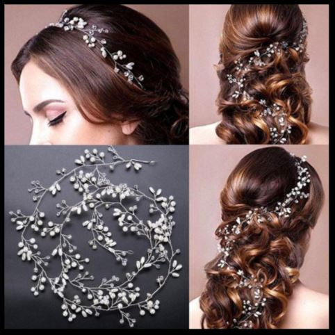 Bridal Wedding Vine Headpiece (Product code H050)