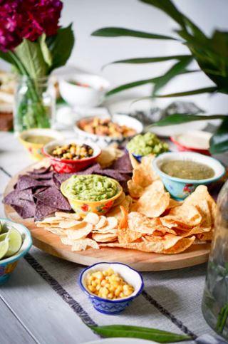 Food Buffet Wedding Table