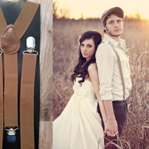 Light Brown Suspenders