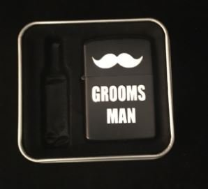Lighter Groomsman