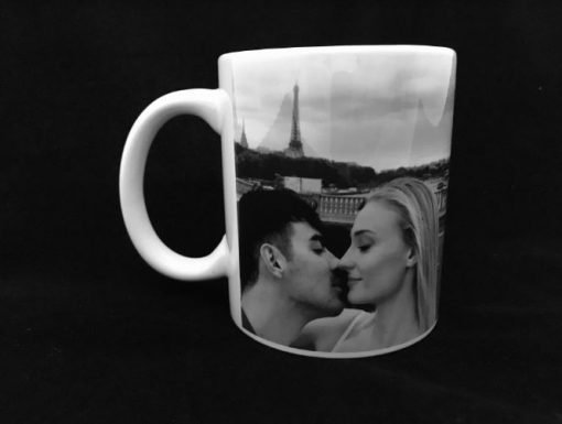 Customised Mug with Your Black/White Photo