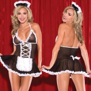 French Maid Lingerie Outfit