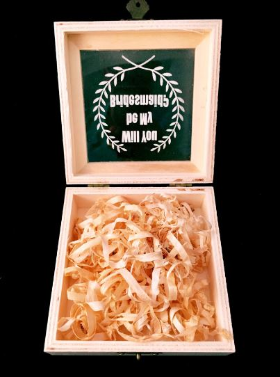 Customised Wedding Wooden Gift Box