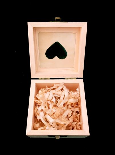 Customised Wooden Wedding Gift or Ring Box