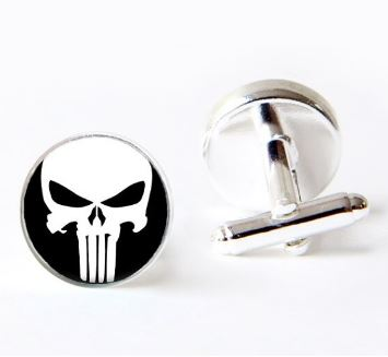 Punisher Cufflinks