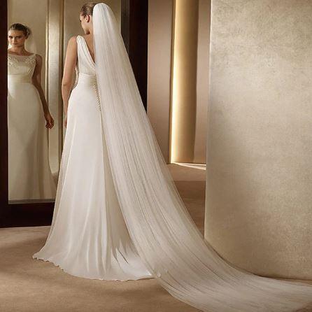 Beautiful Cathedral Bridal Wedding Veil