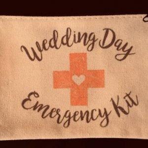 Wedding Day Emergency Kit Bag