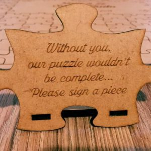 Customised Puzzle Guest Book