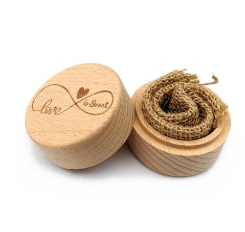 """Love is Sweet"" Ring Box"