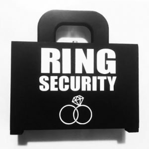 Ring Security Black Case with White Text reading Ring Security