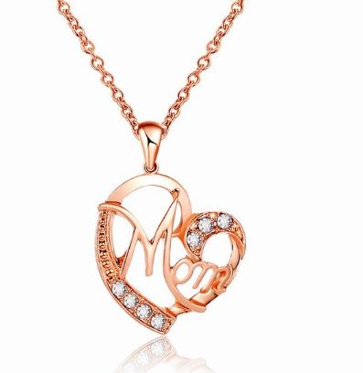 Stunning MOM Necklace - the Perfect Mother of Bride/Groom Wedding Gift