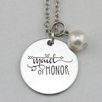 Maid of Honour Jewellery