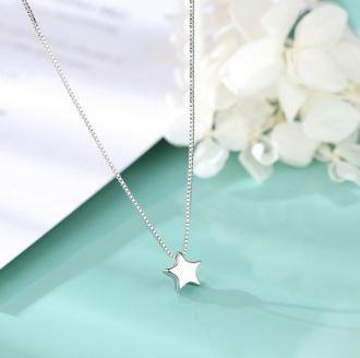 Star Silver Necklace