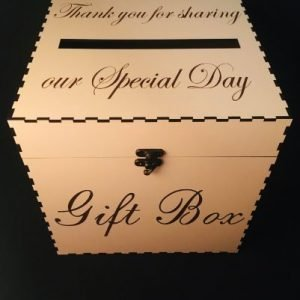 Wedding Card | Money Gift Box Delux