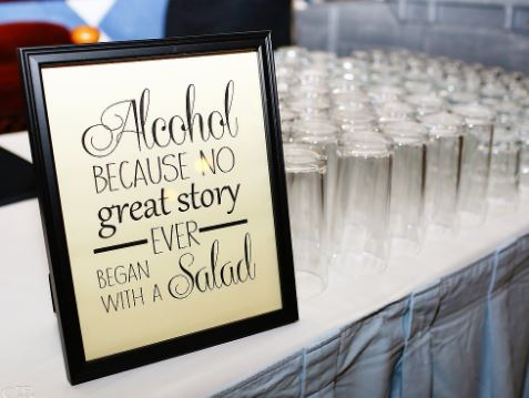 Because no great story ever began with a salad...