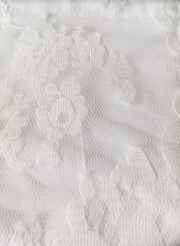 Bridal White Lace Fabric of Face Mask
