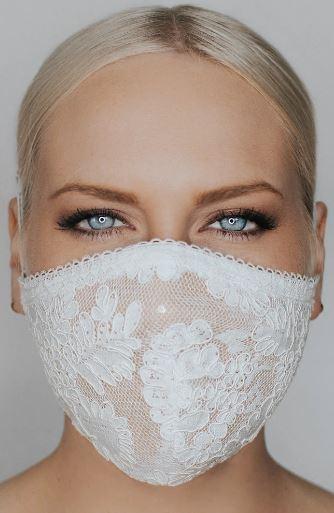 Bride Bridal Wedding High-quality Face Mask