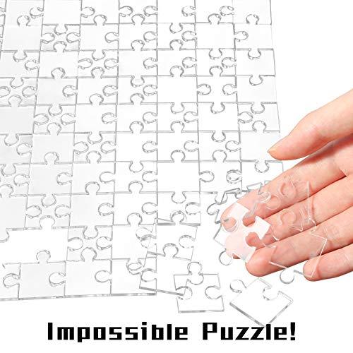 Acryllic Clear Puzzle
