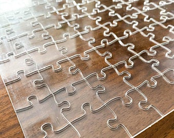 Acryllic Clear Puzzle