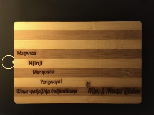 Customised Personalised Wedding Wooden Cutting Chopping Kitchen Board