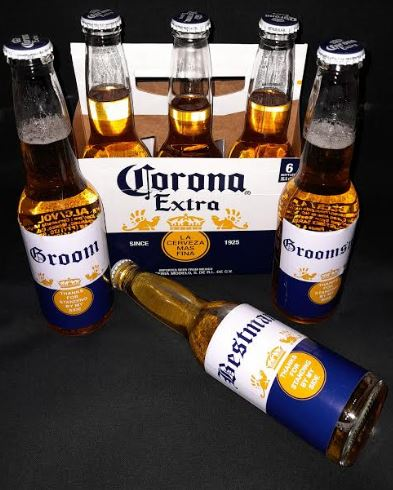 Corona Beer | Wedding Fun | Groom | Bestman | Groomsman