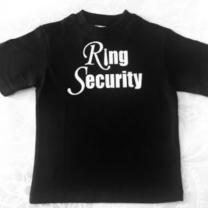 Ring Security Pageboy Wedding Needs