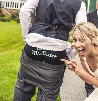 Customised Personalised Wedding Jockey Briefs