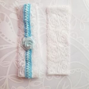 Garter Pair | Something Blue