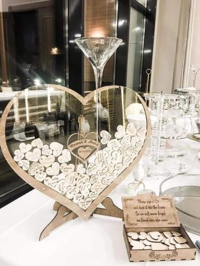Beautiful Wedding Guest Book Frame