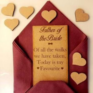 Unique Wedding Gift Favour