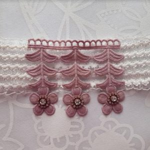 Beautiful Bridal Wedding Garter | Bride Garter | Light Pink