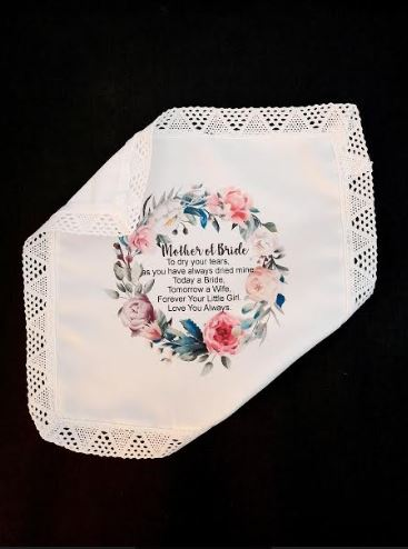 The Ideal Wedding Gift | Hankerchief