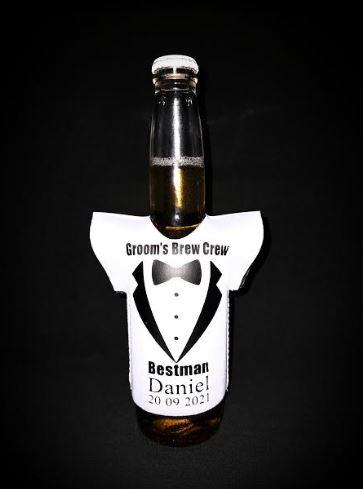 Personalised Beer Holder Cooler