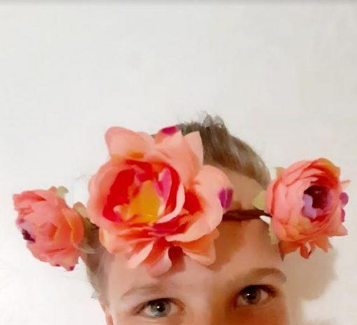 Flowergirl Flower Headpiece | Flowergirl Hair Accessories