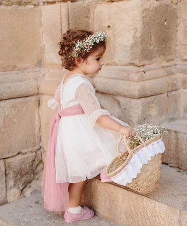 Flowergirl Confetti Flower Basket