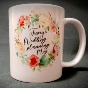 Customised Personalised Bridal Wedding Mug