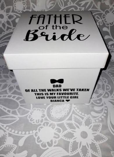 Personalised Wedding Gift Box