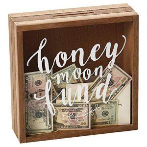 Personalised Honeymoon Wedding Fund Treasure Box