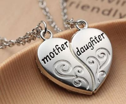 Special Mother & Daughter Necklace Pair | Mother of the Bride | Bride Jewellery