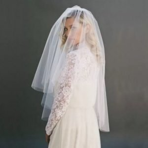 Beautiful Bridal Wedding Veil | Bride Veil | 2 layer | Comb included