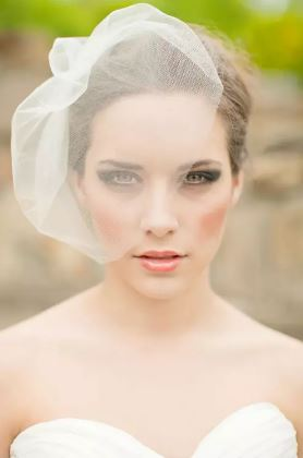 Beautiful Bird Cage Wedding Bridal Veil   Bride Veil