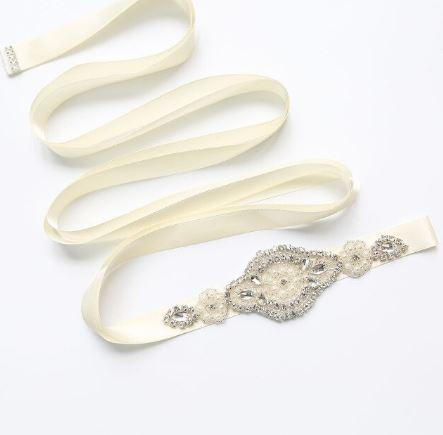 Stunning Bridal Bride Wedding Dress Bridal Belt | Bride Accessories