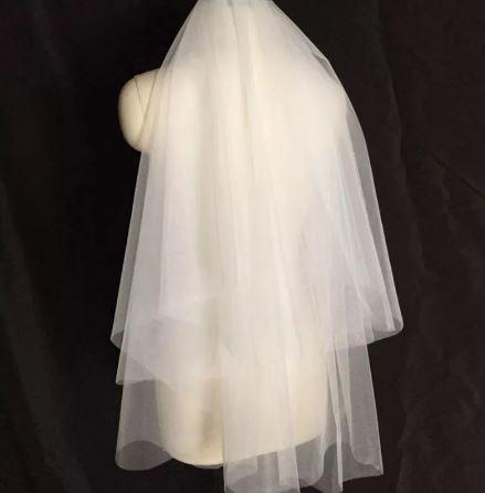 Beautiful Bridal Wedding Veil | Bride Veil | 2 layer | Comb included
