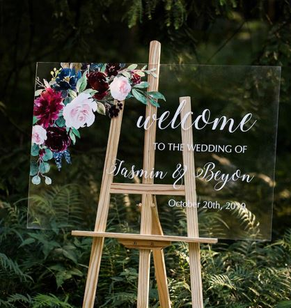 Wooden Wedding Easel | Perfect to hold any Wedding Sign Beautifully